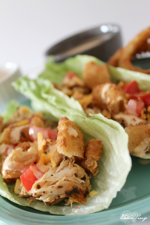 Homemade Spicy Lettuce Wraps