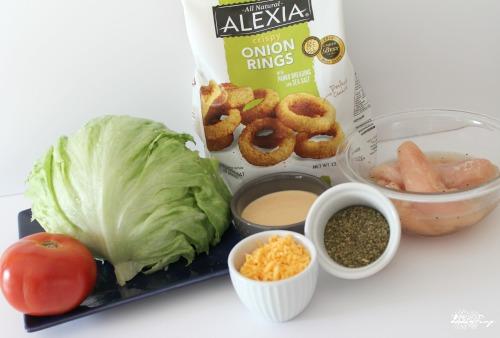 Zesty Chicken Lettuce Wraps Ingredients