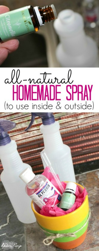 Homemade Outside Spray Recipe