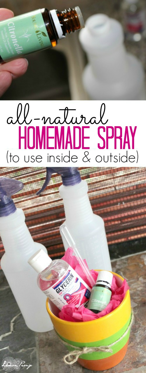 Homemade Outside Spray Recipe