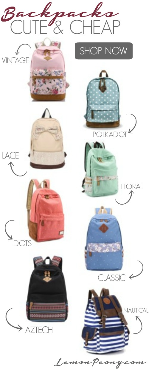 Cute Cheap Backpacks