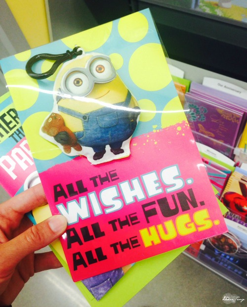 Minion Cards with Clip