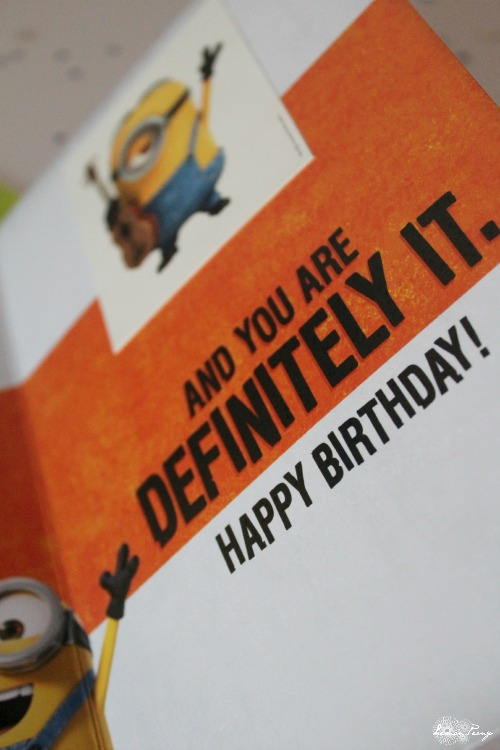 Minions Party Cards