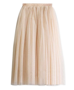 Three Layer Tulle Skirt