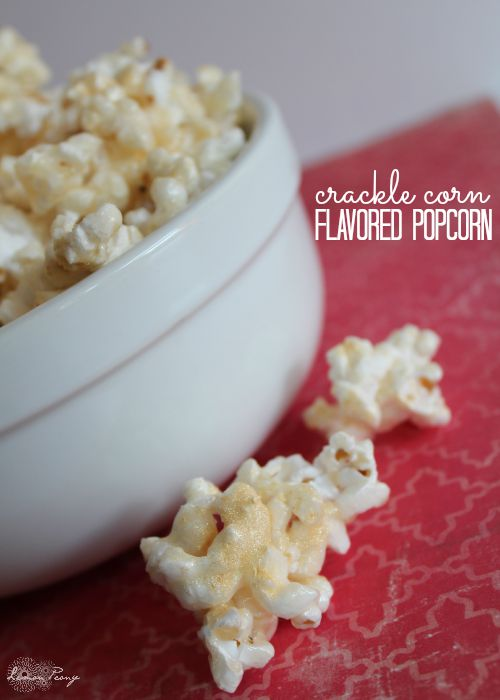 Crackle Corn Recipe Flavored Popcorn