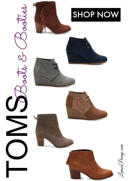Toms Boots and Booties