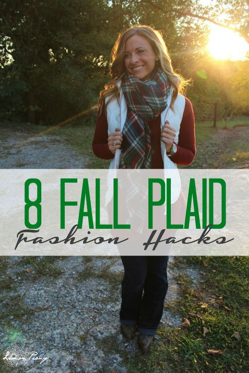 8 Fall Plaid Fashion Hacks! Everyday Style and Trends!