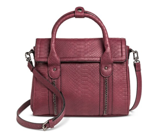 Burgundy Handbag Satchel