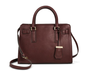 Burgundy Satchel for Fall an Winter Handbag Trends