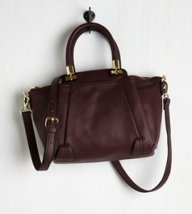 Mod Cloth Burgundy Totes