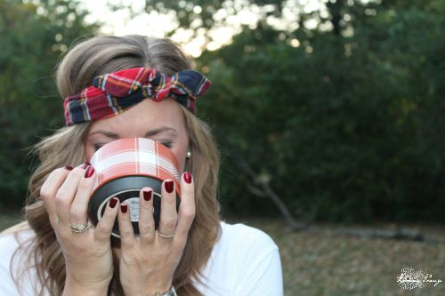Plaid Headband and Accessories and 8 Plaid Fall Fashion Hacks!