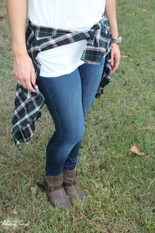 Plaid Shirt Jacket for Fall! Plus 8 Plaid Fall Fashion Hacks!