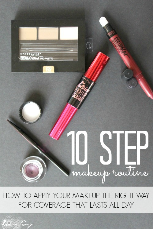 10 Step Makeup Routine and Beauty Hacks for Fall and Winter Makeup Looks and Everyday Style!