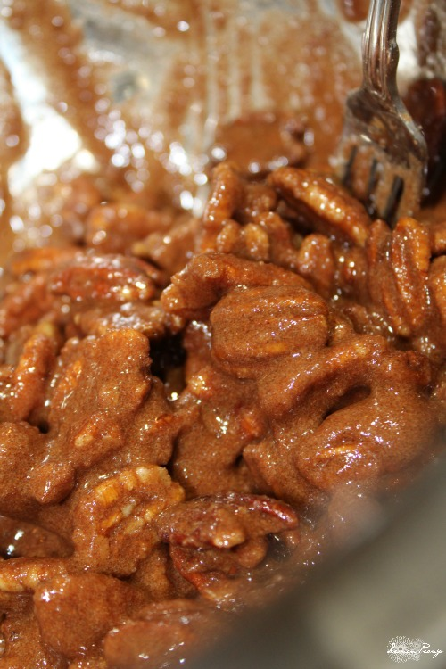 Cinnamon Sugar Pecans Recipe for Christmas and Thanksgiving! Holiday Candy Nuts and Easy Food Gift Idea!