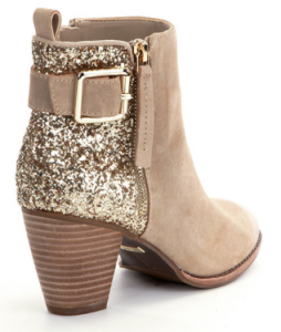 Gianni Bini Sheena Glitter Booties