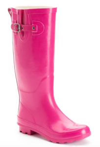 Hot Pink Rain Boots