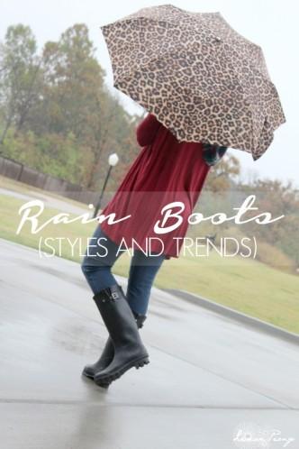 Rain Boot Trends