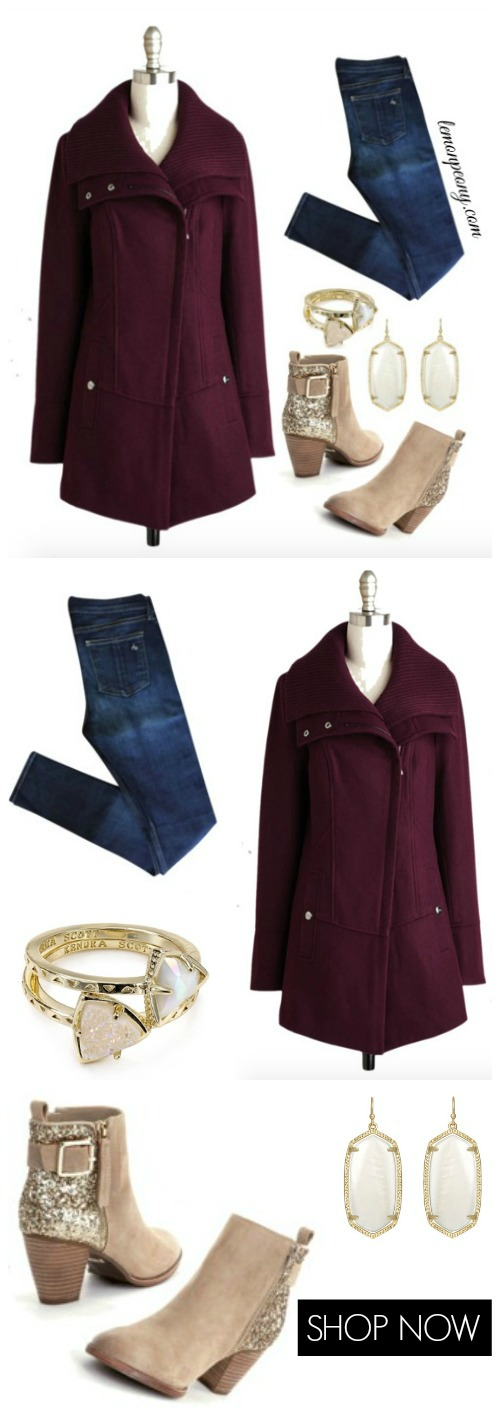 Colored Winter Coats
