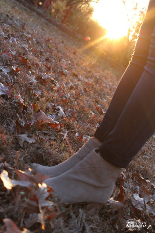 Toms Booties and Winter Fashion