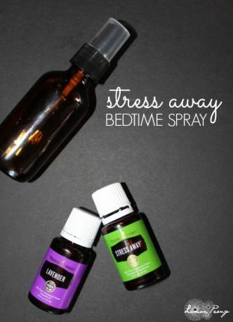 DIY All-Natural Stress Away Bedtime Spray Recipe