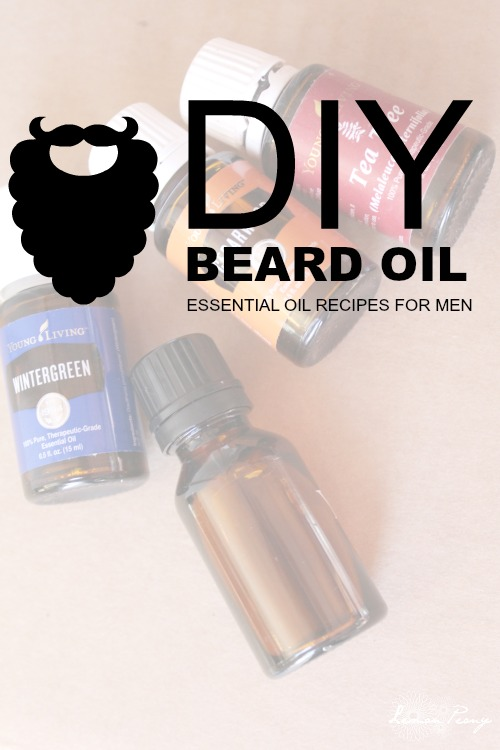 DIY Beard Essential Oil Recipe for Men