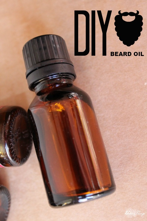 DIY Essential Oil Beard Oil