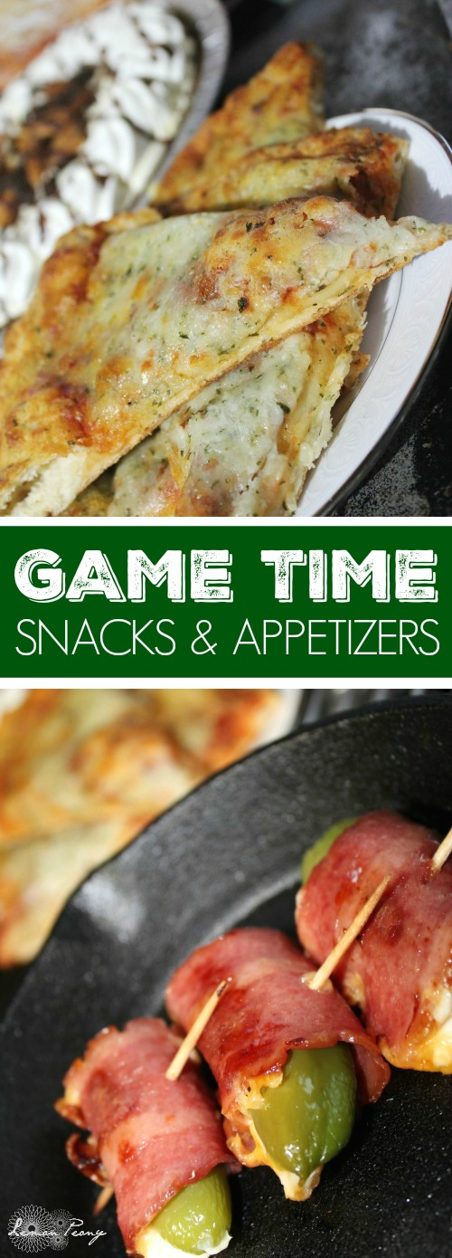 Game Time Snacks and Appetizers