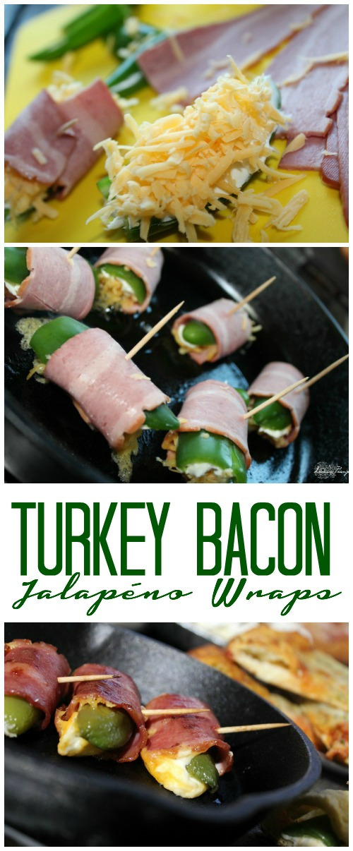 Turkey Bacon Jalapeno Wraps Appetizer