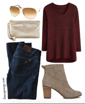 Valentine's Day Outfit! Casual Fashion Trends for Valentine's Day Parties or Your Special Date Night!