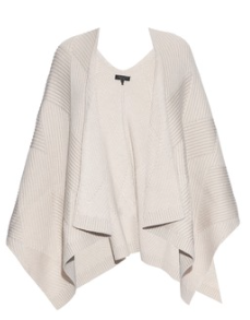 Winter White Poncho for Trendy Valentine's Day Outfits! Shop this Cute Valentine's Day Look for your Special Date or Party! Red and White Trends for 2016!