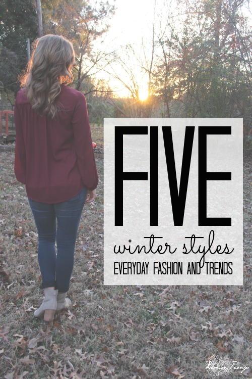 5 Winter Styles