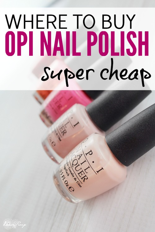How to Save Money on Nail Polish