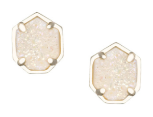 Kendra Scott Logan Druzy Button Earrings