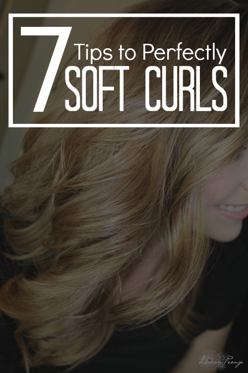 7 Hair Tips for Soft Curls