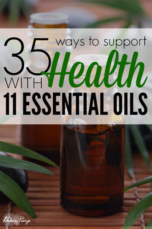 Support Health with Essential Oils