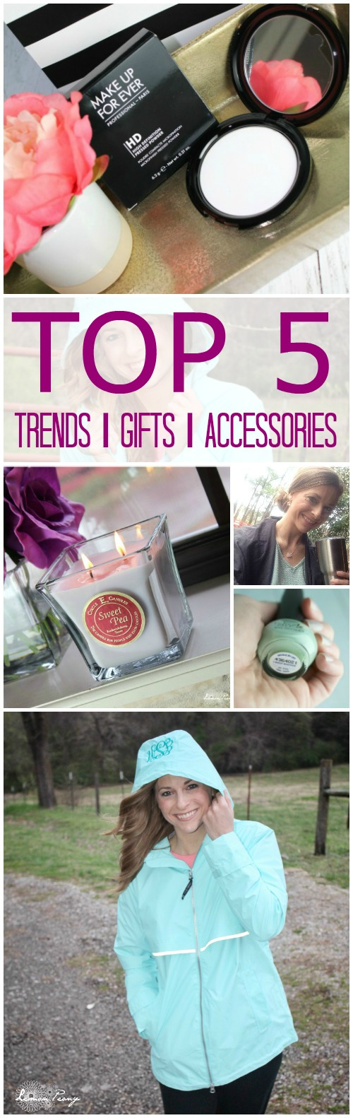 Top 5 Spring Gifts and Accessories