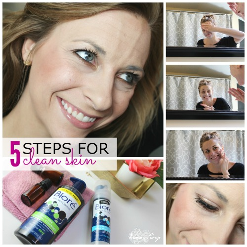 5 Steps for Clean Skin Square 500