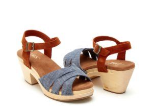 Chambray Brown Suede Women's Beatrix Clog Sandals