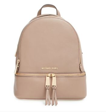 4d79ff9050ac MICHAEL Michael Kors 'Extra Small Rhea Zip' Leather Backpack