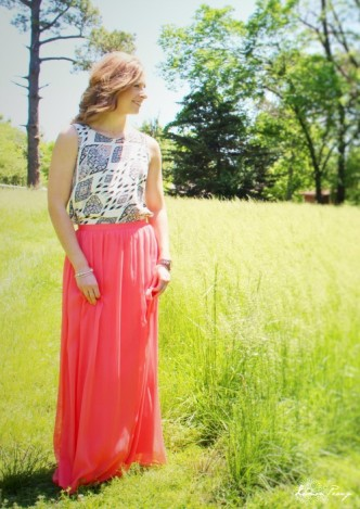 Modest Fashion Maxi Skirt