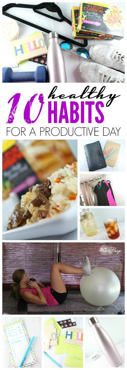 10 Healthy Habits for a Productive Day All Day