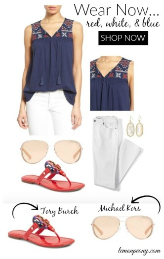 4th of July Patriotic Outfits