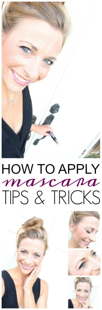 How to Apply Mascara Tips and Tricks