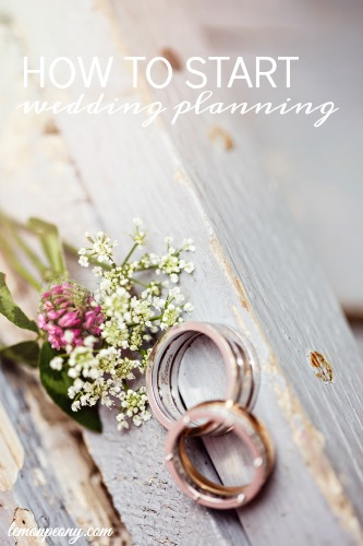 How to Start Wedding Planning Tips
