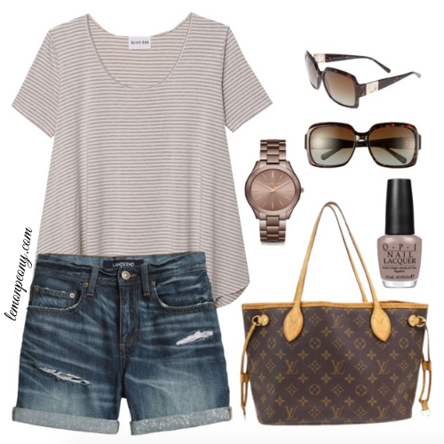 Cute Casual Summer Style Square