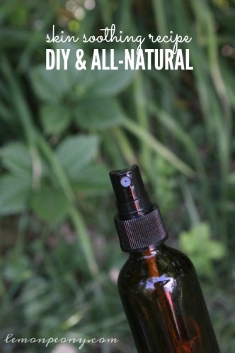 Skin Soothing All Natural Recipe