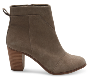 TAUPE SUEDE WOMEN'S LUNATA BOOTIES