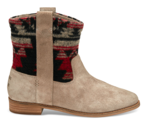 TRIBAL DESERT TAUPE SUEDE WOMEN'S LAUREL BOOTS