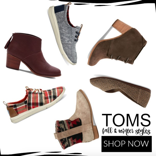 Toms Shoes Fall and Winter