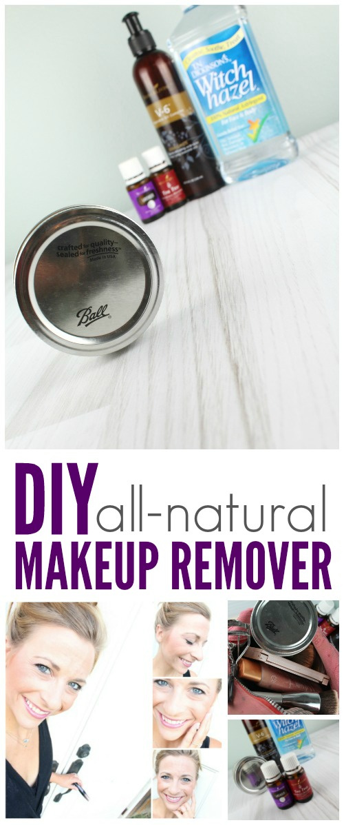 DIY All Natural Homemade Makeup Remover